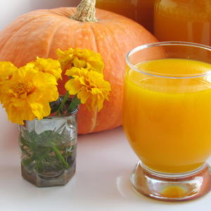 Тыквенный сок (с апельсином)