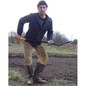 Портрет с лопатой