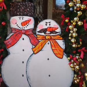 Снеговики-казаки