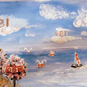 Летят птицы, плывут облака, плывут пароходы: УРА ОБИ..