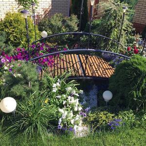 Сухой ручей - изюминка нашего сада