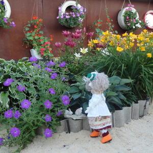Кукла для сада своими руками