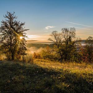 Солнце на пороге осеннего дня