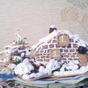 Зима на даче. PS Торт