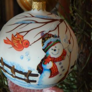Новогодний подарок в мою коллекцию шаров!