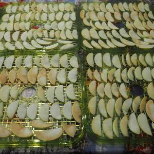 Сушим яблочки душистые, полезные и вкусные...
