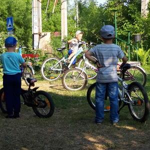Слет юных велосипедистов