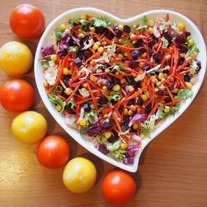 Мой фирменный салат - витаминов клад!