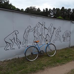 Все на велосипед! И будем спокойны за человечество!