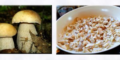 Фаршированные грибочками яйца