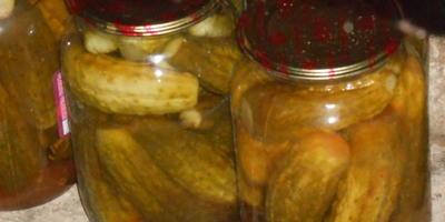 Огурцы в кетчупе