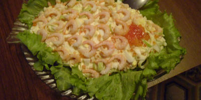 Очень вкусный салатик для Новогоднего стола!