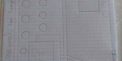 Помогите распланировать участок 12 соток