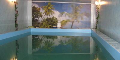 Наш маленький тропический рай - домашний банный комплекс