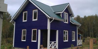 Небольшой дом в голландском стиле