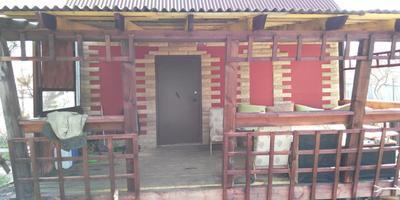 Каркасный домик на Окункуле