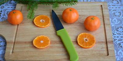 Сушим цитрусовые - готовим праздничный  декор