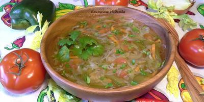 Суп для похудения (жиросжигающий)