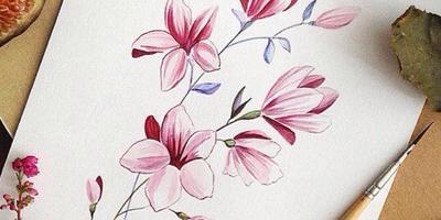 Какие цветы здесь нарисованы?