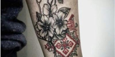Можно ли определить, что за цветок на татуировке?