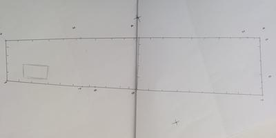 Помогите сделать планировку и дизайн узкого участка
