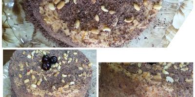 Самый вкусный шоколадный торт с вишневым кремом (Сказка)