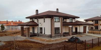 Фотографии и отзывы о коттеджном поселке «Онегин Парк» (Тосненский р-н ЛО)