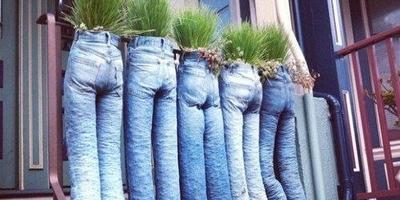 Для чего нужны старые джинсы