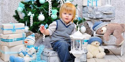 Новогодние идеи для украшения детской комнаты