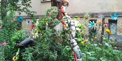 Садовые фигурки пани Леси