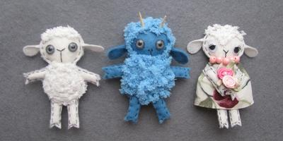 Как сшить овечку своими руками: 3 модели по 1 выкройке