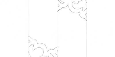 Новогодние украшения своими руками: кружево из бумаги