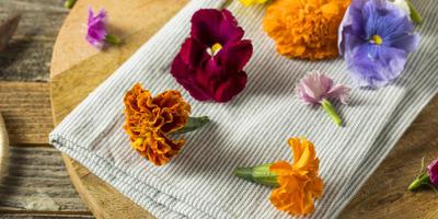 Универсальные цветы для красоты и для еды