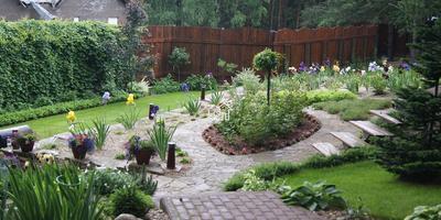 Распространенные ошибки в дизайне сада: форма, цвет, композиция