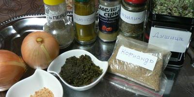 Пхали - овощная закуска  на любой вкус и круглый год