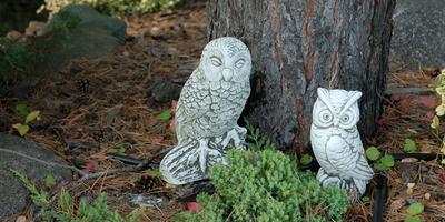 Фигурки из камня для дачи и дома