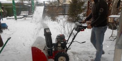 Как мы выбирали снегоуборщик