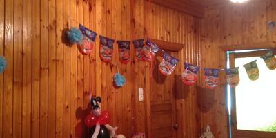 Как мы устроили детский праздник на даче