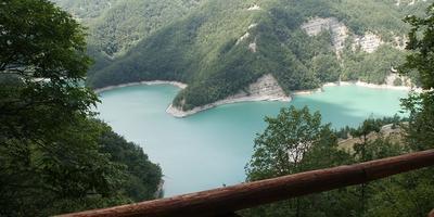 Национальные парки Италии. Плотина РИДРАКОЛИ