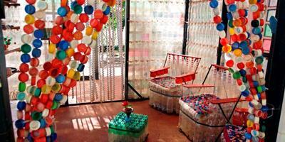 21 вариант использования пластиковых бутылок на даче