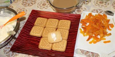 Домашний торт к чаю из печенья