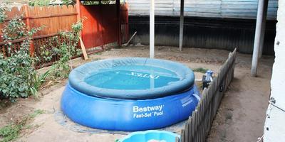 Наш новый бассейн