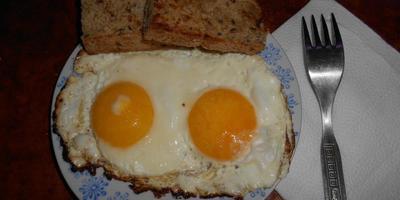 Яичница - глазунья