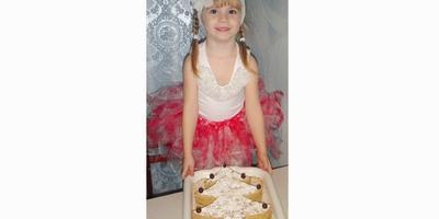 Медовый торт ёлочка.