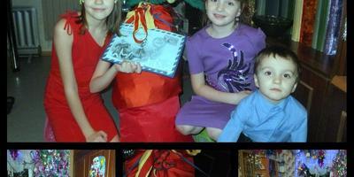 Дед Мороз всем подарки он принёс !!!!