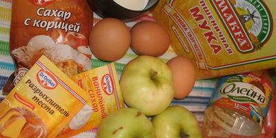 Яблочный спас на пороге - пирог с яблоками попробуй