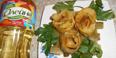 Картофельный букет