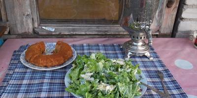 """Салат """"Вальдорф"""" - дачный праздник с """"Олейной"""""""