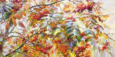Осенняя краса в работах художников
