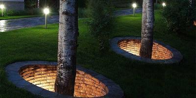 Идеи для подсветки дачного участка